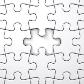 Puzzle 18 x 13 cm 12 elementów