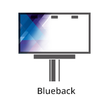 Blueback. Produkt drukowany na matowym papierze billboardowym z niebieskim tyłem. Materiał ten przeznaczony jest do jednostronnego zadruku solwentowego. format własny Maksymalna szerokość materiału to 150 cm. Jednostronnie kolorowe – solwent (4+0 CMYK) Zadruk jednostronny. Wysokiej jakości odwzorowanie kolorystyczne w zakresie techniki druku solwentowego.